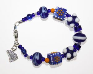 Carolina Blues Bracelet